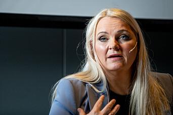 Åslaug Sem-Jacobsen fra Senterpartiet.