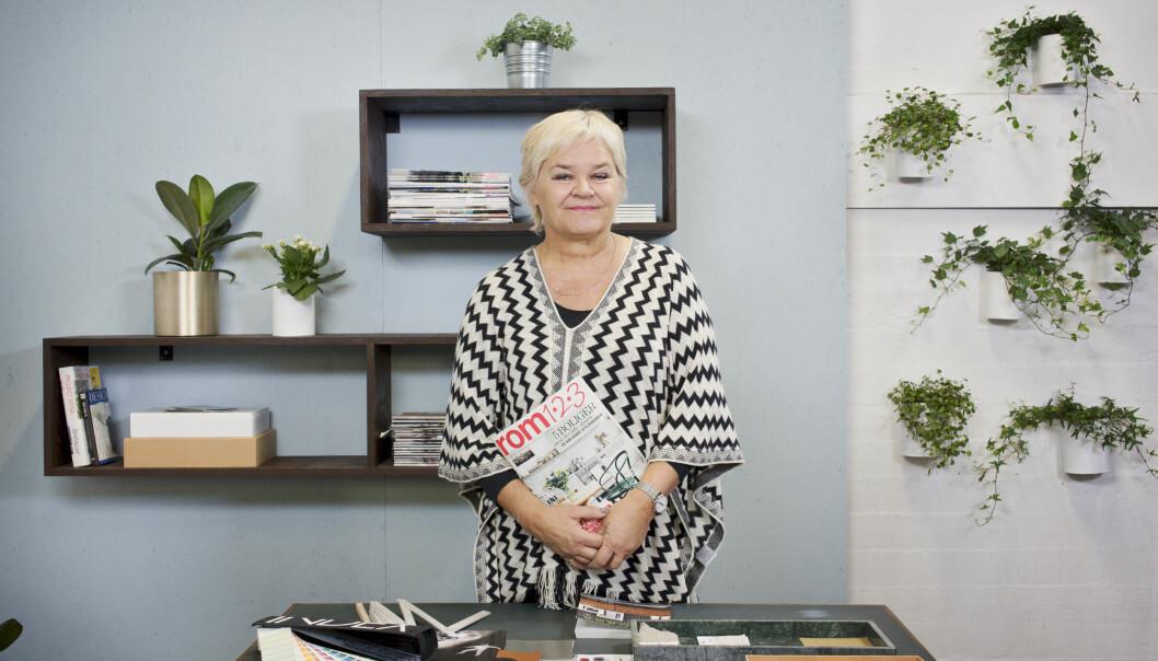Tidligere Rom123-redaktør Anne Vestad overtar som redaktør for Hjemmet. Bildet er tatt i forbindelse med tv-serien Rom123 på TV 2. Foto: Jorunn Tharaldsen / Egmont Publishing