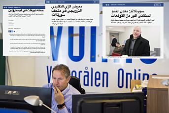 Lokalavis i Vesterålen tester nyheter på arabisk