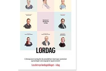 Aftenpostens kritthvite lørdagsstemmer vekker reaksjoner, også fra en av stemmene selv