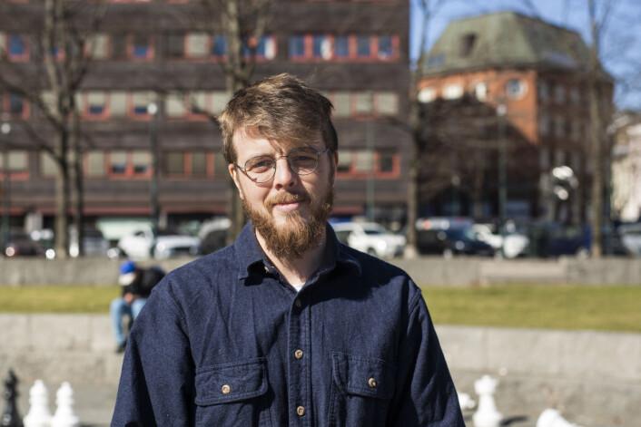 Kyrre Lien, frilans fotojournalist og nytt medlem i NJs landsstyre. Foto: Kristine Lindebø
