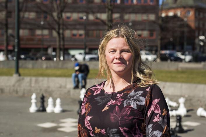 Silje Bratland Roksvåg, journalist, Agderposten og nytt medlem i NJs landsstyre. Foto: Kristine Lindebø