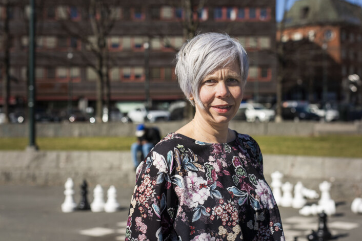 Marita E. Valvik, journalist, Aftenposten og nytt medlem i NJs landsstyre. Foto: Kristine Lindebø