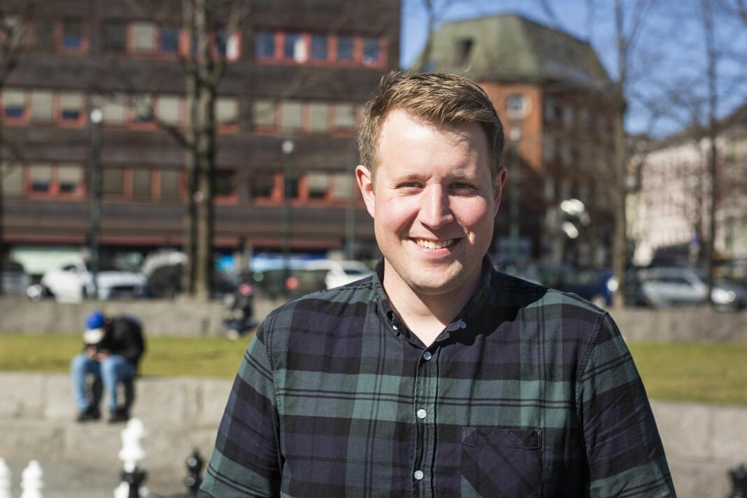 Even Skårberg Aarnes, journalist, NRK Telemark og nyvalgt medlem i NJs landsstyre. Foto: Kristine Lindebø