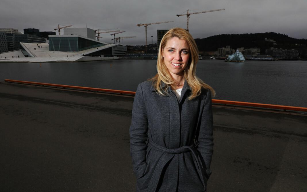 Ansvarlig redaktør Alexandra Beverfjord i Dagbladet har søkt om produksjonstilskudd til Dagbladet pluss. Foto: Ørn E. Borgen / NTB scanpix