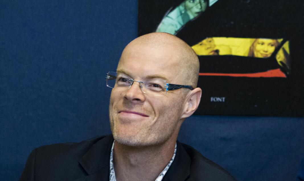 Bjørn Eckblad (51) slutter i Dagens Næringslivs Etterbørs, og blir nå seniorrådgiver i Kulturdepartementet. Foto: Berit Roald / NTB scanpix