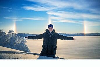 PÅSKEMORGENRUTINEN: Johan Ante Utsi ønsker seg en topp klimasak og udiskutabel «klikkvinner» i påska