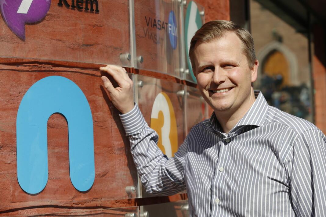 Vegard Klubbenes Drogseth, administrerende direktør i NENT Group, kjøper rettigheter på løpende bånd. Foto: Erik Johansen / NTB scanpix