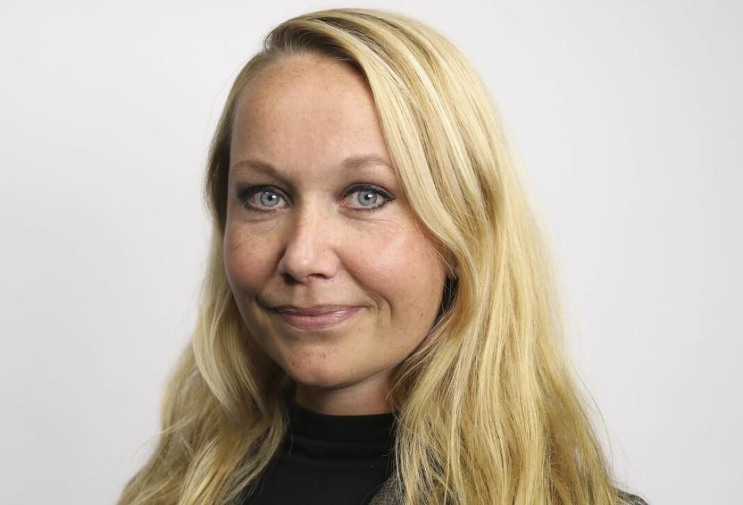 Therese Sollien har tidligere vært vikar i Aftenposten. Nå blir hun fast kommentator. Foto: Signe Dons / Aftenposten