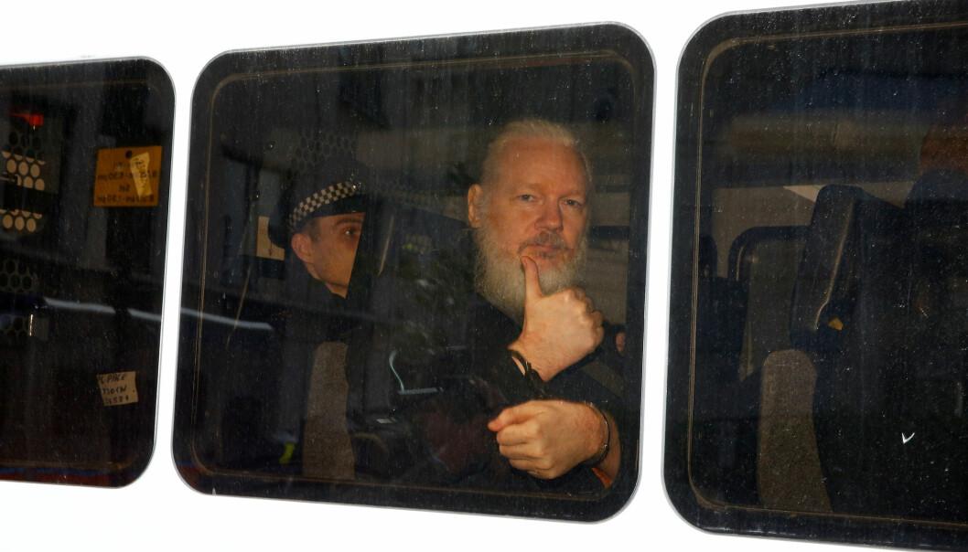 – En tiltale mot den publisistiske virksomheten til WikiLeaks vil bidra til en fryktkultur som vil ramme all journalistikk, mener Norsk Pen. Foto: Henry Nicholls / Reuters / NTB scanpix