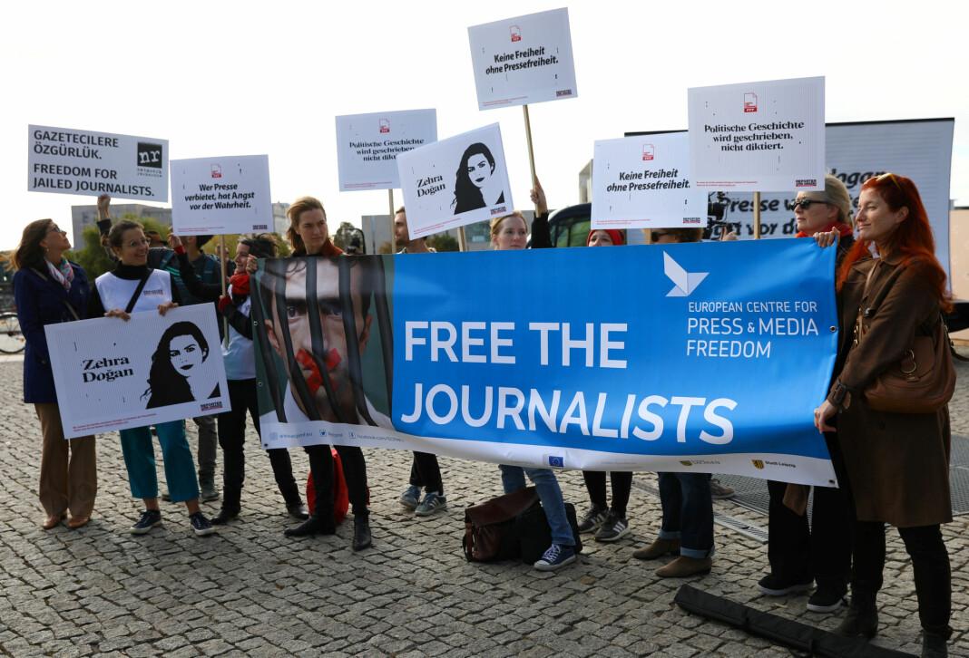 Norge er fortsatt det beste landet for journalister, viser Reportere uten grensers årlige pressefrihetsindeks. Samtidig stuper antallet land der journalister kan jobbe trygt. Foto: Reuters / NTB scanpix