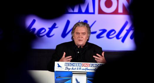 Ytre høyre-parti inviterer Bannon til mediekonferanse i Berlin