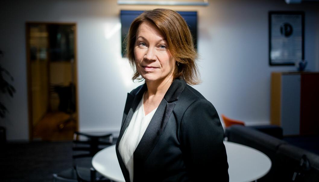 Kjersti Sortland er ansvarlig redaktør for Budstikka. Foto: Eskil Wie Furunes