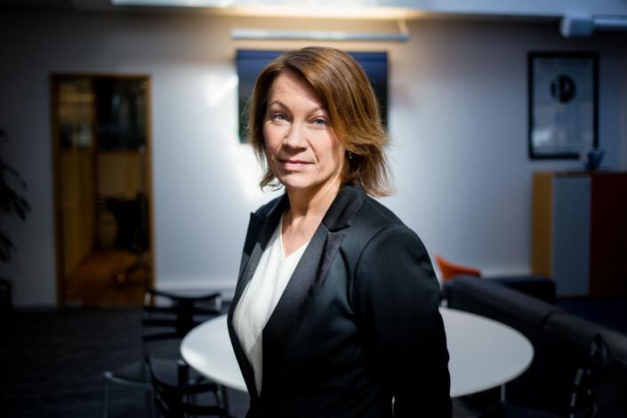 Redaktør Kjersti Sortland i Budstikka frykter enkelte medier tilpasser seg støtteordninger fra staten. Foto: Eskil Wie Furunes