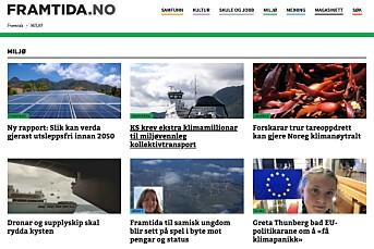 Fritt Ord gir 250.000 kroner til norsk klimajournalistikk