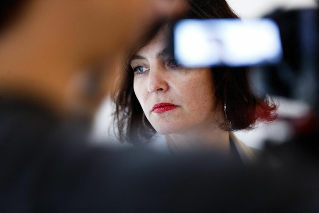 Kjersti Løken Stavrum er blitt valgt til ny leder i Norsk PEN. Foto: Gorm Kallestad / NTB scanpix
