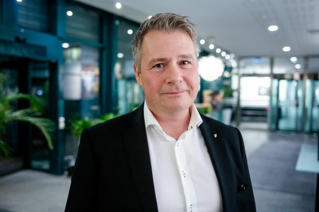 Etter Debatten på NRK 1 torsdag om Resett, avslørte stortingspolitiker Per-Willy Amundsen at han avsluttet sin boikott av iTromsø allerede i desember 2018. Men det har ikke så mange andre fått med seg. Foto: Eskil Wie Furunes
