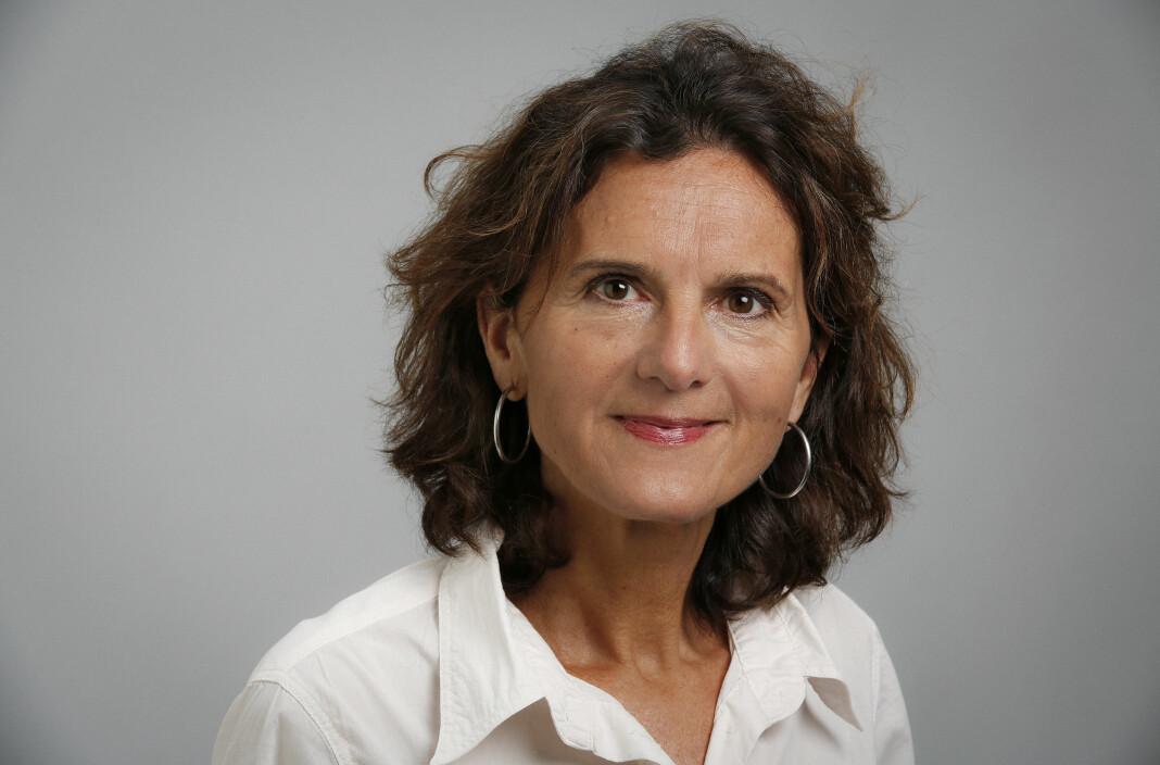 Sidsel Wold forteller til Dagbladet om hvordan hun noen ganger ringer opp netthetserne. Foto: Anne Liv Ekroll/NRK