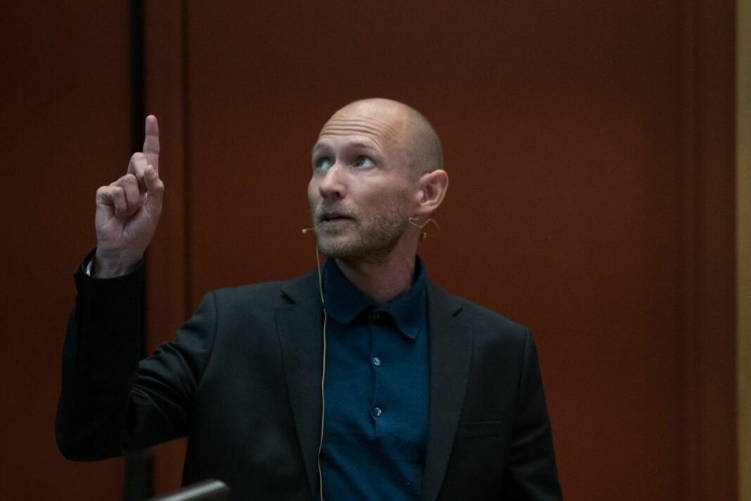Morten Frich er juryleder for Fortellerprisen og nyhetsredaktør i danske Politiken. Foto: Ronald Hole Fossåskaret/Fortellingens kraft