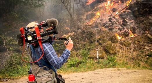 MORGENRUTINEN: Da Lars Os reiste fra orkan til skytemassakre, spurte han seg selv: «Er det normalt å elske en slik type jobb?»