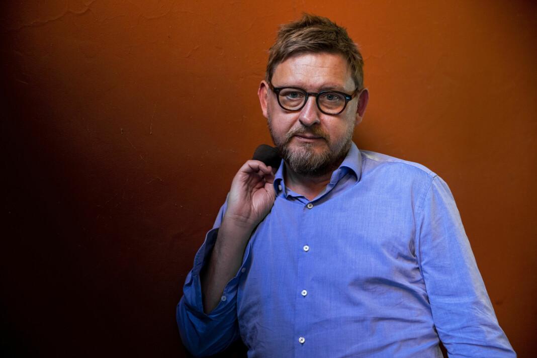Metoo har ikke bare falt heldig ut i Sverige, sier Fredrik Virtanen, aktuell med boken «Uten nåde». Foto: Tore Meek / NTB scanpix