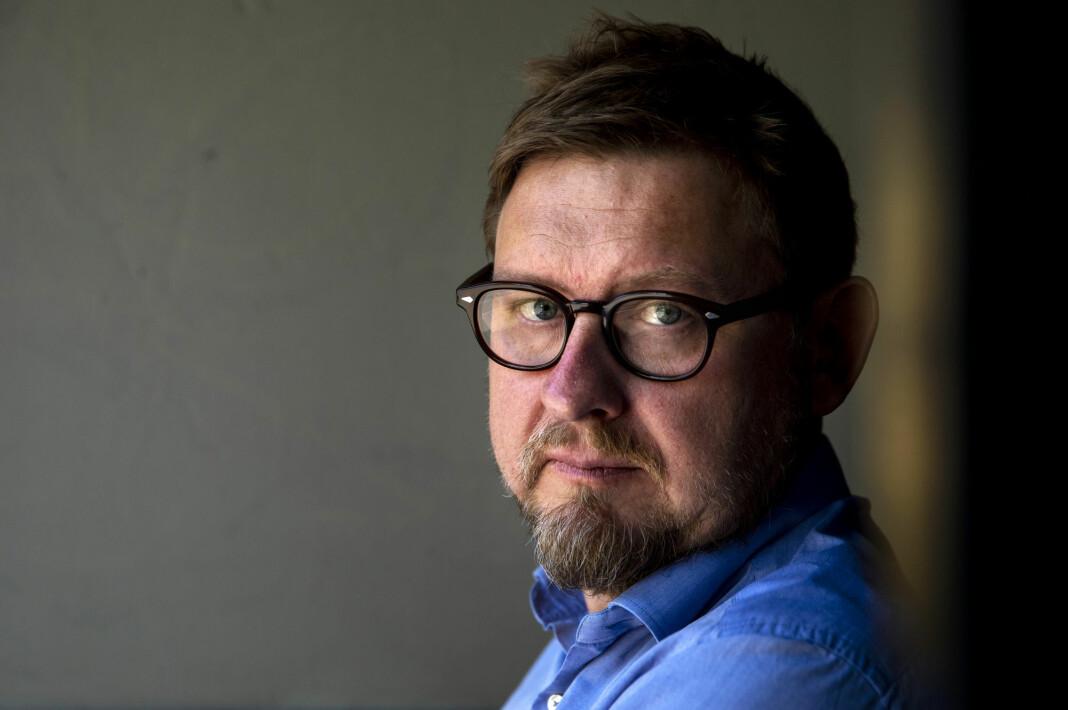 Fredrik Virtanen mener svenske medier kastet presseetikk over bord da de omtalte saken hans. Foto: Tore Meek / NTB scanpix