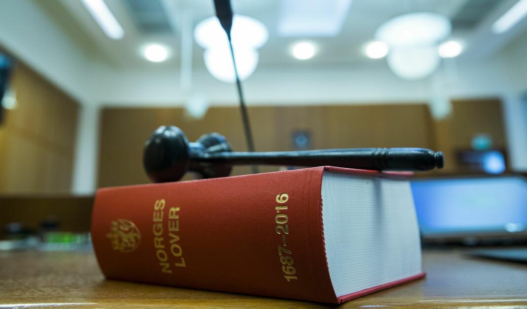 Generalsekretær Arne Jensen i Norsk Redaktørforening mener det blir feil hvis medier slutter å opplyse navn på dommere i rettssaker. Foto: Berit Roald / NTB scanpix