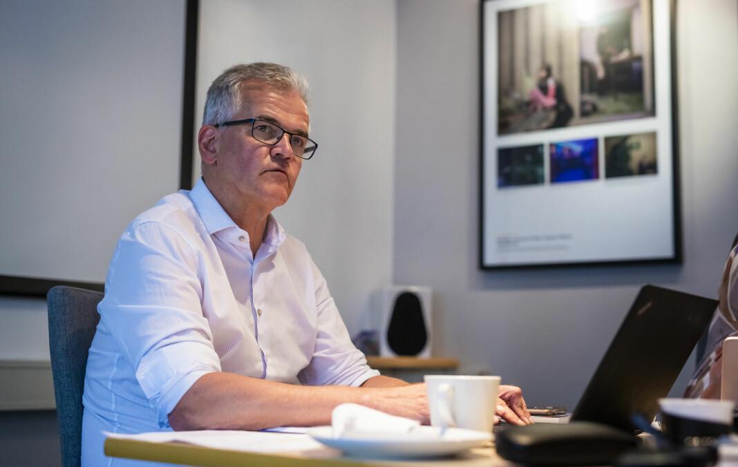 Leder Alf Bjarne Johnsen i Pressens faglige utvalg sier «fy, fy» til redaksjonelle haler. Arkivfoto: Kristine Lindebø