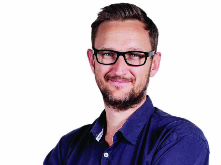 Den andre av Dagsavisens to nyhetsredaktører, Lars West Johnsen, er ansatt som politisk redaktør, med ansvar for ledere, faste spaltister og kommentarinnhold.  Foto: Dagsavisen