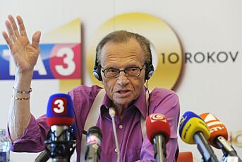 Larry King operert etter hjertekrampe
