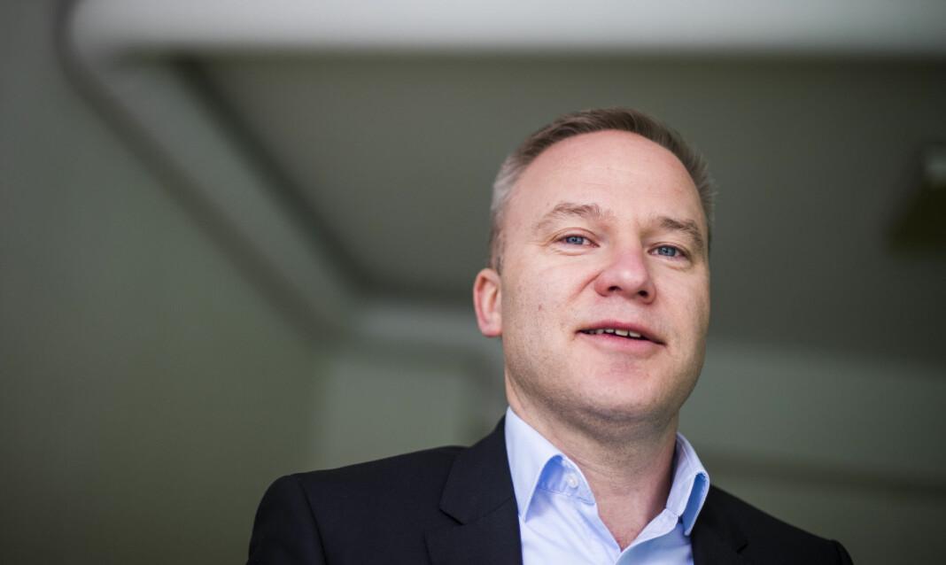Helge Lurås er redaktør for nettstedet Resett.no. Foto: Håkon Mosvold Larsen / NTB scanpix