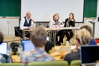 Frykter at nye lover, trusler, trakassering og sosiale medier skal ødelegge norsk pressefrihet