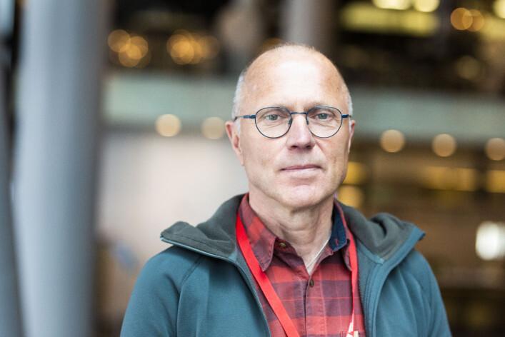 Bertholof Brännström, frilansjournalist, Umeå, Sverige. Sitter i styret i Barents Press Sverige. Foto: Kristine Lindebø