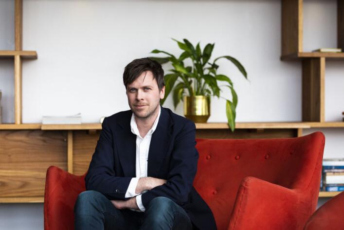 Amund Trellevik er journalist i High North News, bosatt i Kirkenes og styreleder i Barents Press Norge. Foto: Kristine Lindebø
