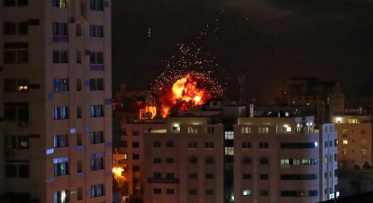Tyrkia fordømmer israelsk bombing av nyhetsbyrå på Gazastripen