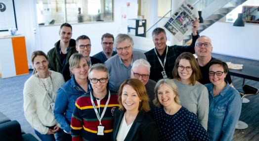 Budstikka nominert til årets avis for tredje år på rad: – En vanlig tirsdag skal aldri være dårligere enn en firer