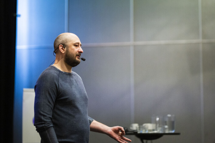 Arkadij Babtsjenko mener han var nødt til å iscenesette drapet på seg selv for å overleve. Foto: Kristine Lindebø