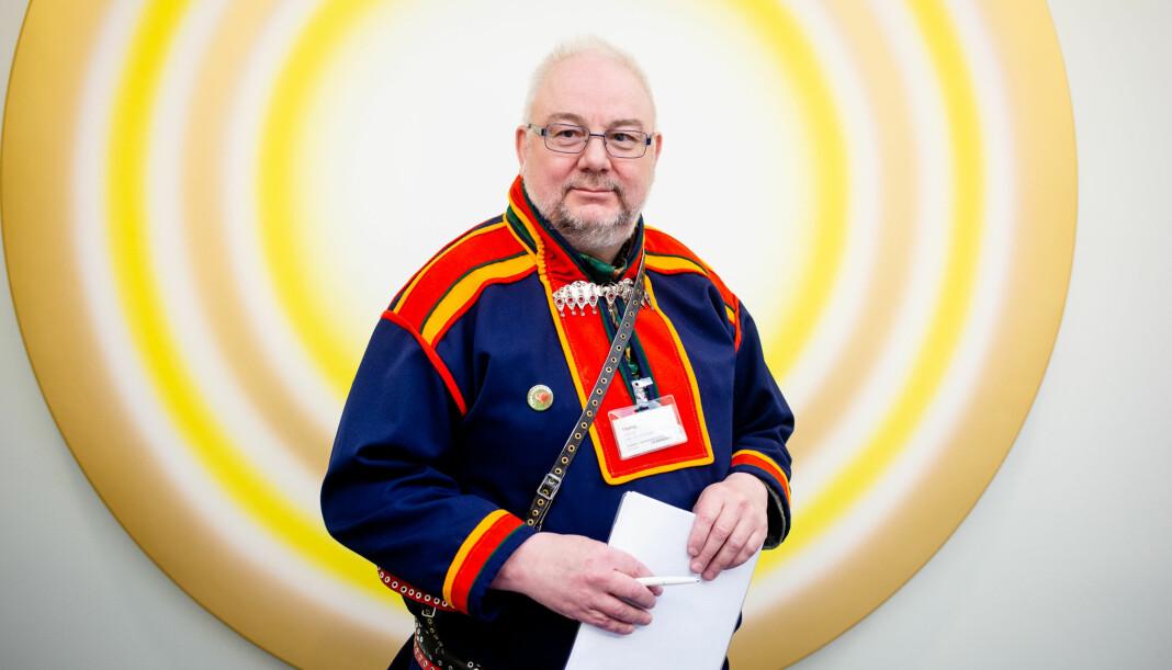 Sagat, her ved ansvarlig redaktør Geir Wulff, får 13,6 millioner kroner i støtte fra Medietilsynet. Arkivfoto: Eskil Wie Furunes
