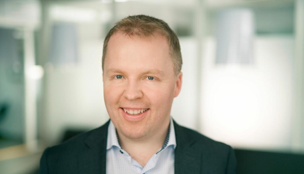 42 år gamle Stige Tore Laugen kommer til TrønderEnergi fra BN Bank, hvor han er kommunikasjonsdirektør, og sitter i bankens ledergruppe. Foto: TrønderEnergi