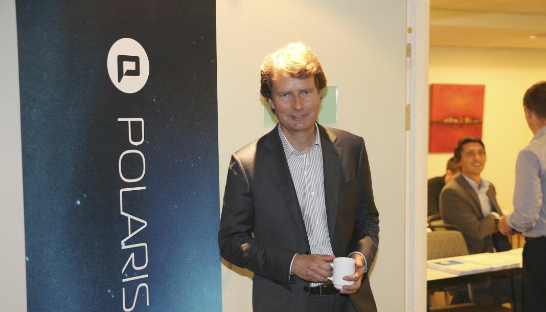 Konsernsjef Per Axel Koch i Polaris Media. Foto: Vidar Ruud / NTB scanpix