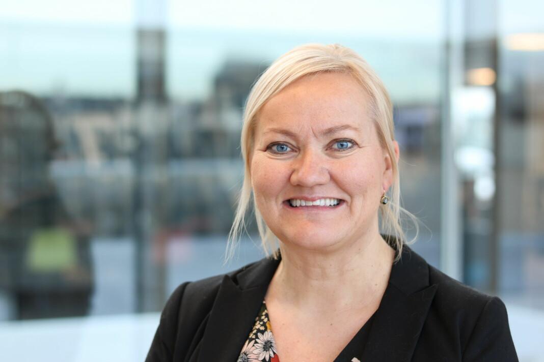 Kommunikasjonsdirektør Trine Melgård avviser at de forsøker å styre norsk presse. Foto: Camilla Smaadal / Direktoratet for e-helse