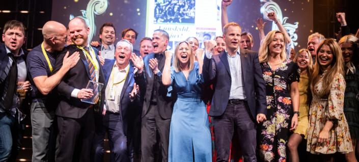 VG stakk av med seks mediepriser i Bergen