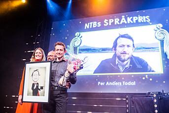 NTBs språkpris til Per Anders Todal i Dag og Tid