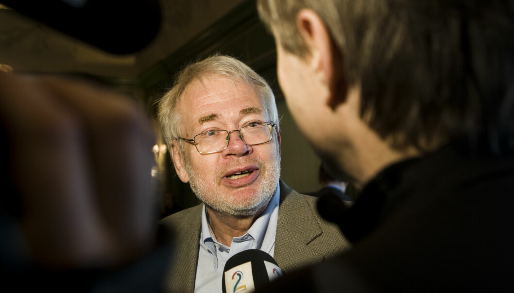 Avisforsker Sigurd Høst er usikker på om den positive trenden i Norge fortsetter. Foto: Berit Roald / NTB scanpix