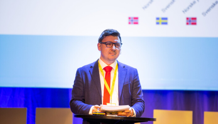 Erik Knudsen er heller ikke fornøyd med svarprosenten, men mener de har tatt høyde for det i analysene. Foto: Eskil Wie Furunes