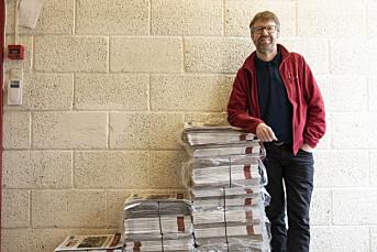 Embrik Luksengard slutter som redaktør i Hallingdølen