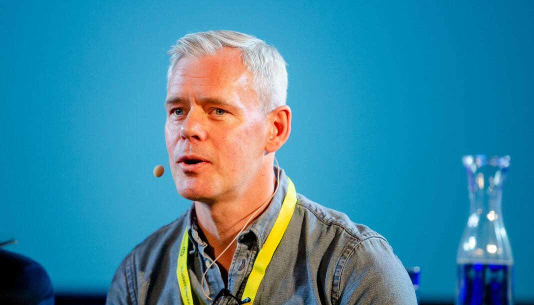 Tidligere redaktør i E24 Dine Penger, Per Valebrokk, er kritisk til pressestøtten. Foto: Eskil Wie Furunes