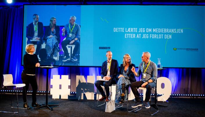 «Dette lærte jeg om mediebransjen etter at jeg forlot den,» var temaet under Nordiske mediedager. Foto: Eskil Wie Furunes