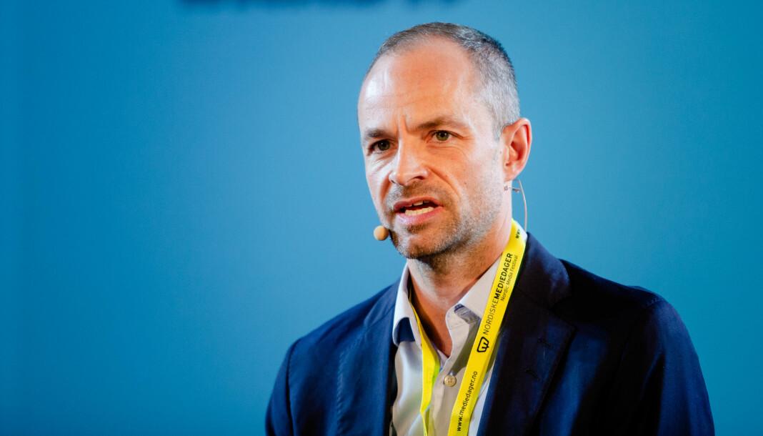 Tor Olav Mørseth er kritisk til norsk presse, men mener også at pressen har utviklet seg til det bedre. Men kanskje ikke like kjapt som andre bransjer. Foto: Eskil Wie Furunes