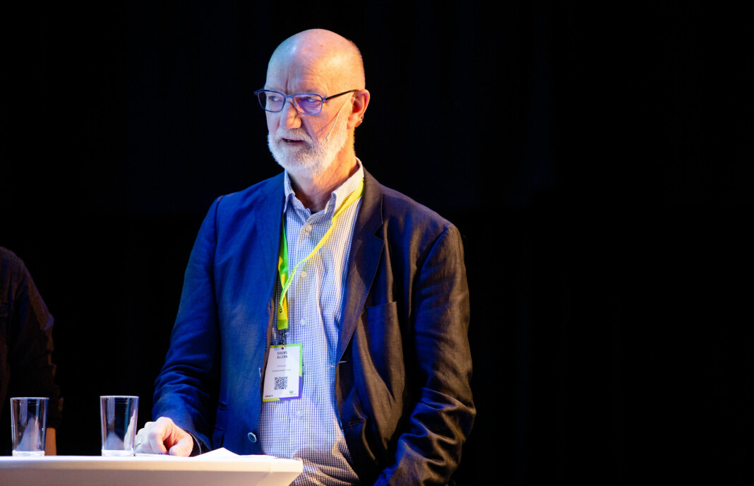 Professor emeritus Sigurd Allern skriver i Uniforum om Morgenbladets eiere. Foto: Eskil Wie Furunes